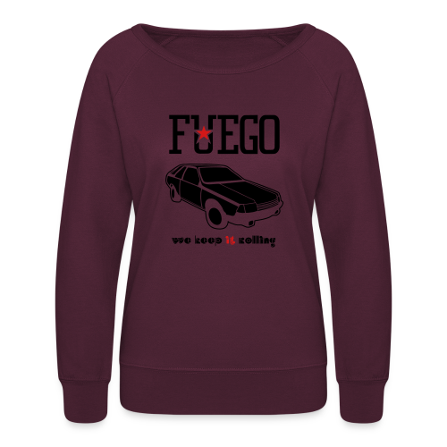 Rogue Fuego With (Brown/Yellow) - Women's Crewneck Sweatshirt
