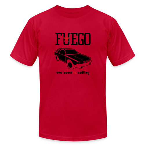 Rogue Fuego With (Brown/Yellow) - Men's Fine Jersey T-Shirt