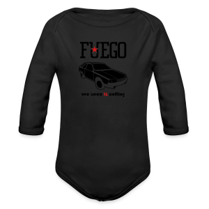 Rogue Fuego With (Brown/Yellow) - Long Sleeve Baby Bodysuit