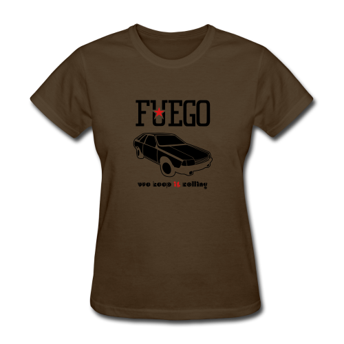 Rogue Fuego With (Brown/Yellow) - Women's T-Shirt