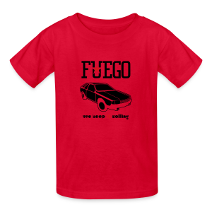 Rogue Fuego With (Brown/Yellow) - Kids' T-Shirt