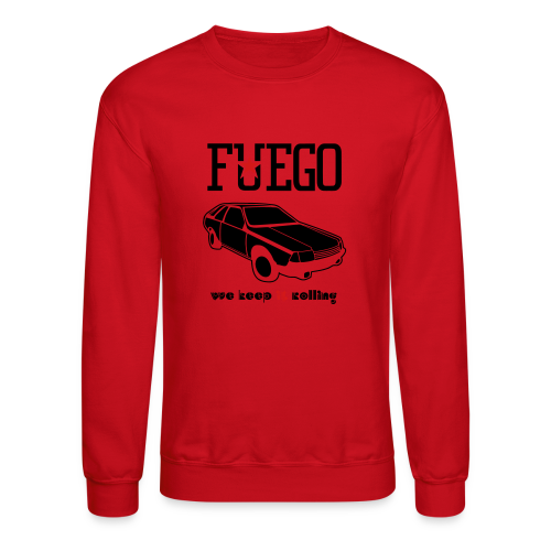 Rogue Fuego With (Brown/Yellow) - Crewneck Sweatshirt