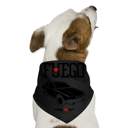 Rogue Fuego With (Brown/Yellow) - Dog Bandana