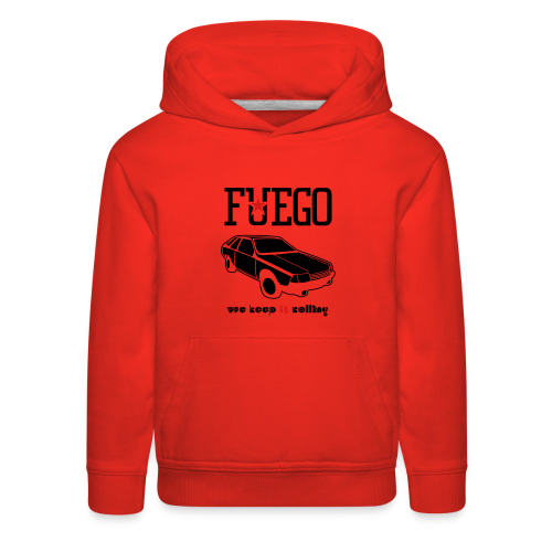 Rogue Fuego With (Brown/Yellow) - Kids' Premium Hoodie