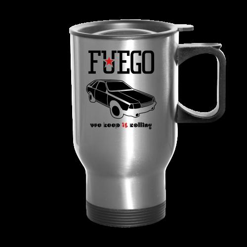 Rogue Fuego With (Brown/Yellow) - Travel Mug