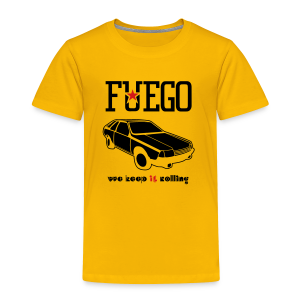 Rogue Fuego With (Brown/Yellow) - Toddler Premium T-Shirt