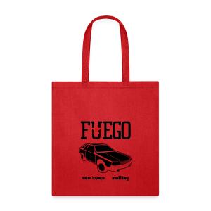 Rogue Fuego With (Brown/Yellow) - Tote Bag