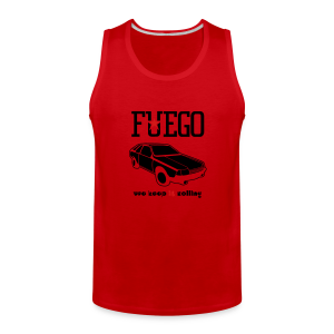 Rogue Fuego With (Brown/Yellow) - Men's Premium Tank