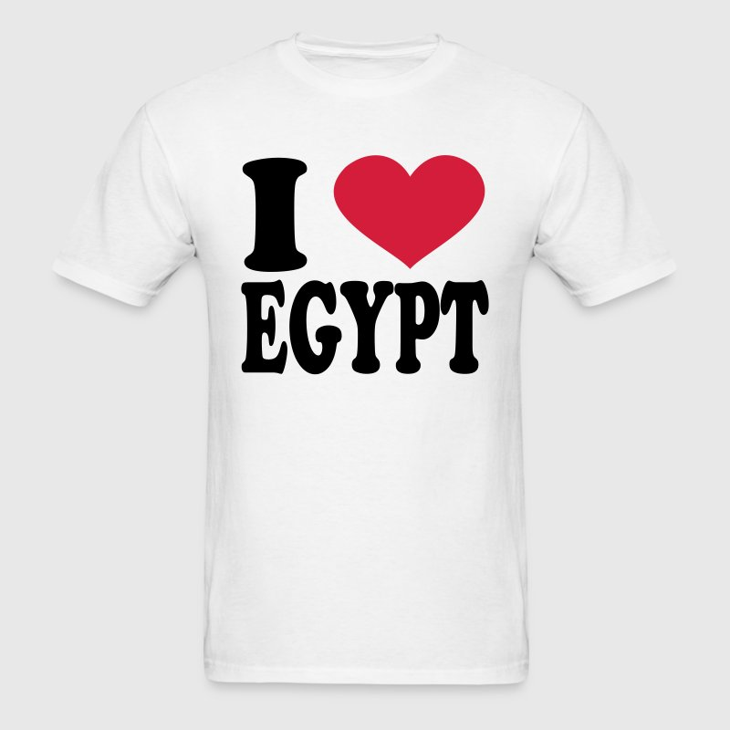 I Love Egypt T-Shirts - Men's T-Shirt