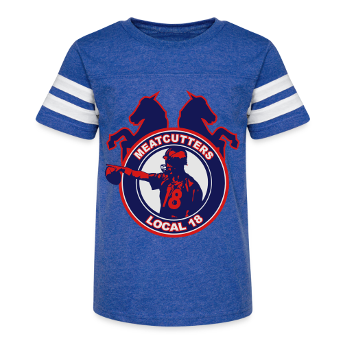 Meatcutters Local 18 - Kids - Kid's Vintage Sport T-Shirt