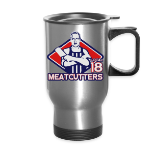 Meatcutters Local 18 2.0 - Men's T-shirt - Travel Mug