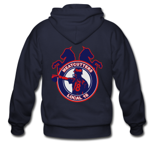 Meatcutters Local 18 - Mens - Men's Zip Hoodie