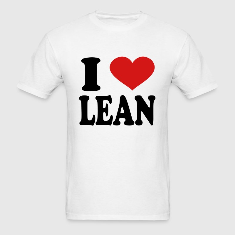 I Love Lean T-Shirts - Men's T-Shirt
