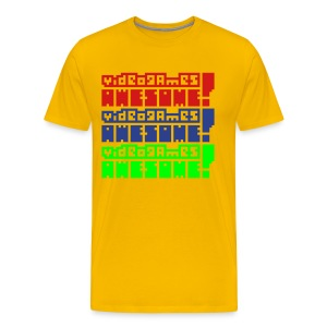 3-stack: Arcade Cabinate - Men's Premium T-Shirt