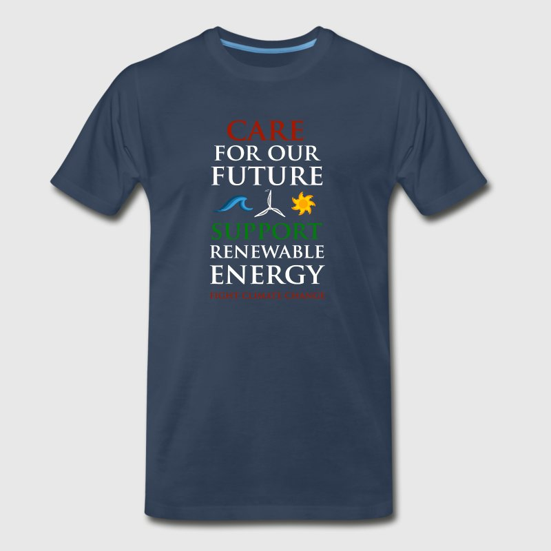 Care For Our Future  T-Shirts - Men's Premium T-Shirt