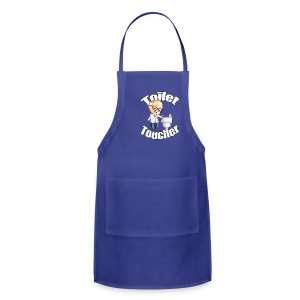 The Toilet Toucher - Adjustable Apron
