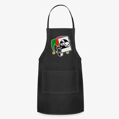 WHP Jester Head Patch Hoodie - Adjustable Apron