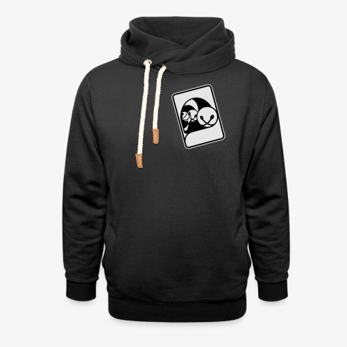 WHP Jester Head Patch Hoodie - Shawl Collar Hoodie