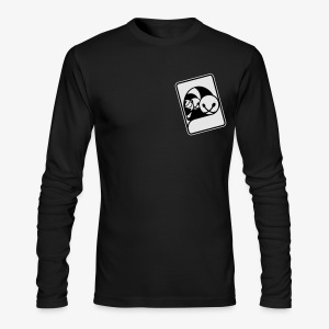 WHP Jester Head Patch Hoodie - Men's Long Sleeve T-Shirt by Next Level