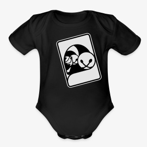 WHP Jester Head Patch Hoodie - Short Sleeve Baby Bodysuit