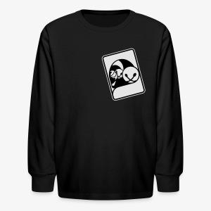 WHP Jester Head Patch Hoodie - Kids' Long Sleeve T-Shirt