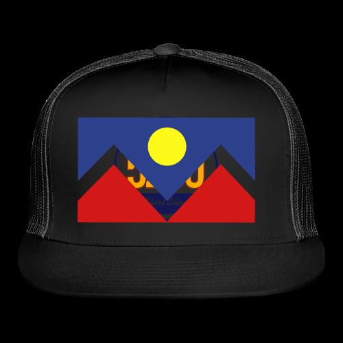 Denver Flag - Bronc - Mens OB - Trucker Cap