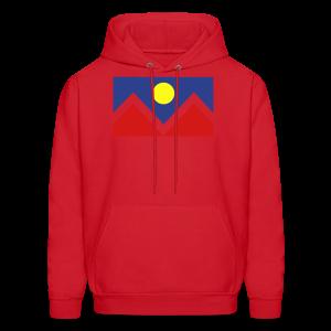 Denver Flag - Bronc - Mens OB - Men's Hoodie