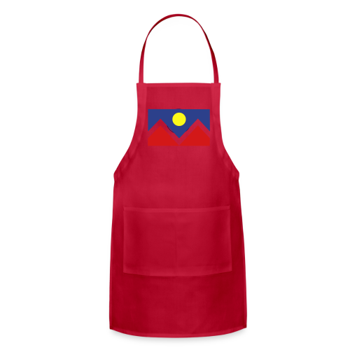 Denver Flag - Bronc - Mens OB - Adjustable Apron