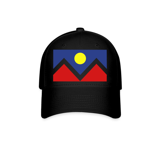 Denver Flag - Bronc - Mens OB - Baseball Cap