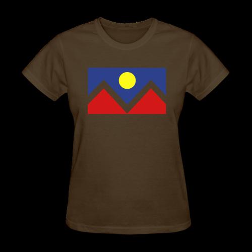 Denver Flag - Bronc - Mens OB - Women's T-Shirt