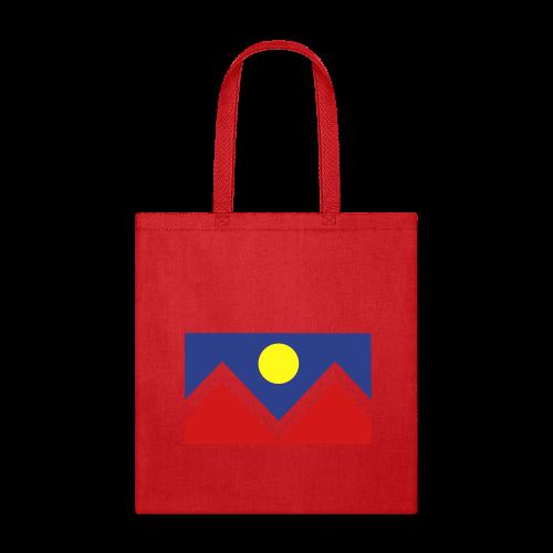 Denver Flag - Bronc - Mens OB - Tote Bag