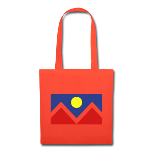 Denver Flag - Bronc - Mens OB - Tote Bag
