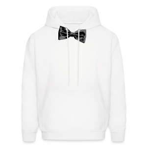Bow Tie T-Shirt (Baseball) Right - Men's Hoodie
