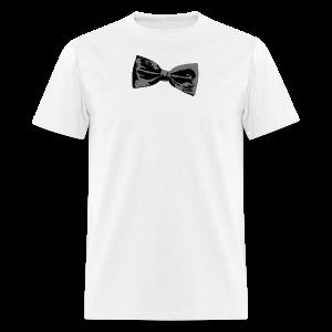 Bow Tie T-Shirt (Baseball) Right - Men's T-Shirt