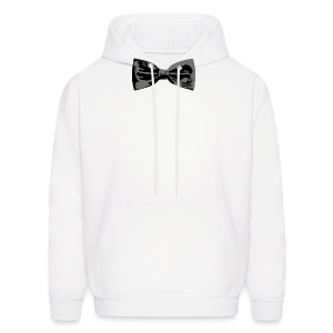 Bow Tie T-Shirt (Baseball) Straight - Men's Hoodie