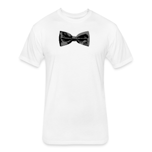 Bow Tie T-Shirt (Baseball) Straight - Fitted Cotton/Poly T-Shirt by Next Level
