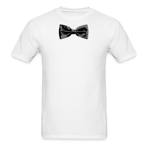 Bow Tie T-Shirt (Baseball) Straight - Men's T-Shirt