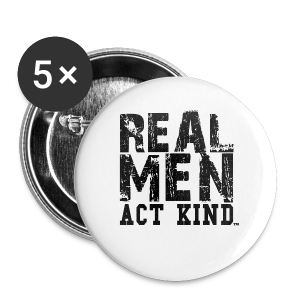 Real Men Act Kind Hoody - Small Buttons