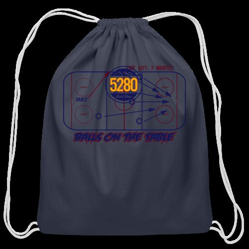 Balls On The Table - Mens - Light Garment - Cotton Drawstring Bag
