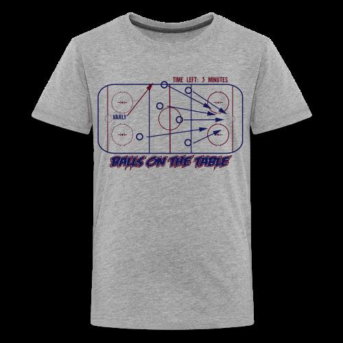 Balls On The Table - Mens - Light Garment - Kids' Premium T-Shirt