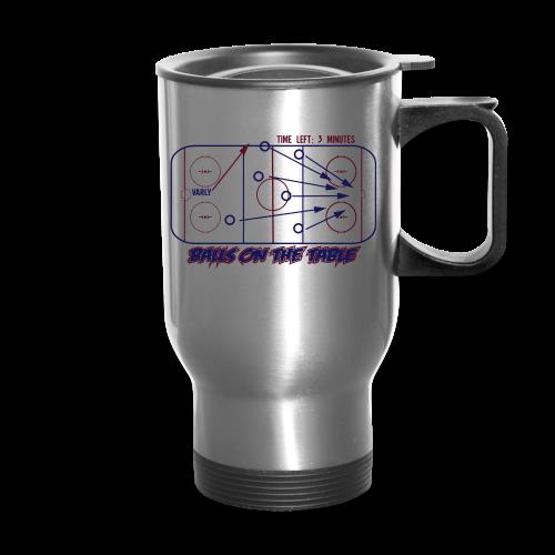 Balls On The Table - Hoodie - Travel Mug
