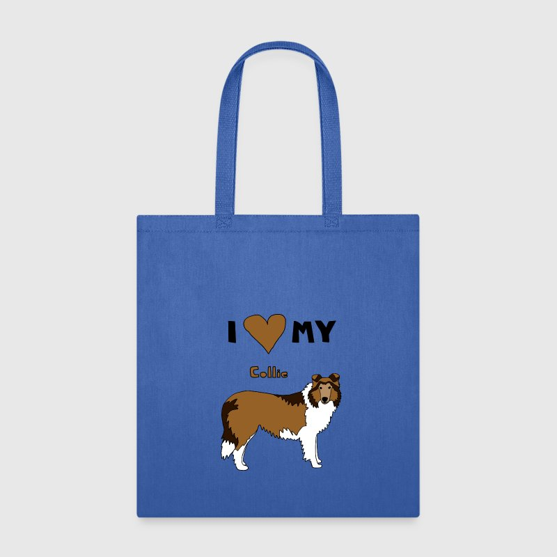 i heart my collie Bags & backpacks - Tote Bag