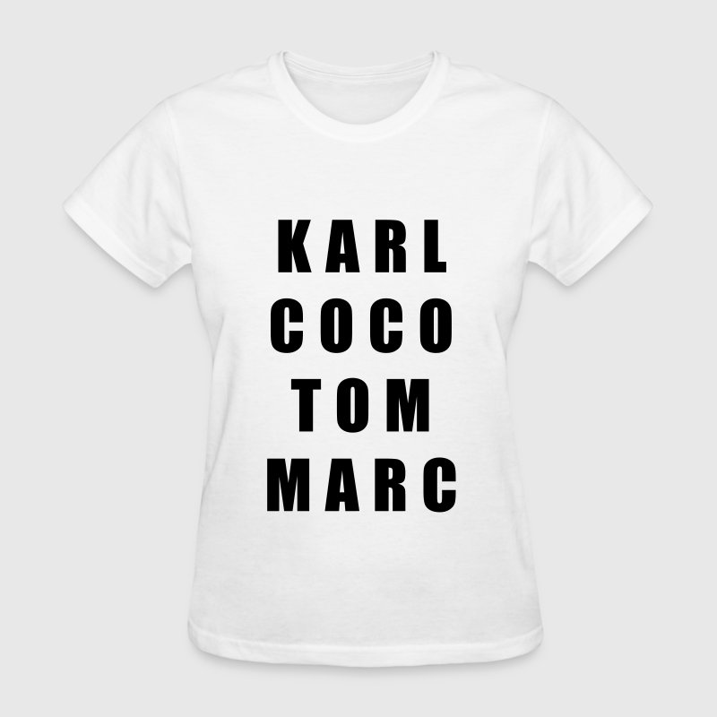 Karl coco tom marc Women's T-Shirts - Women's T-Shirt