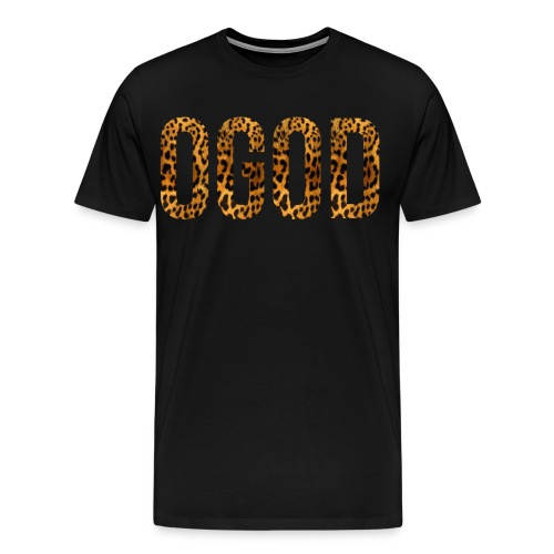 Fluffy Cheetah Ogod Hoodie - Men's Premium T-Shirt