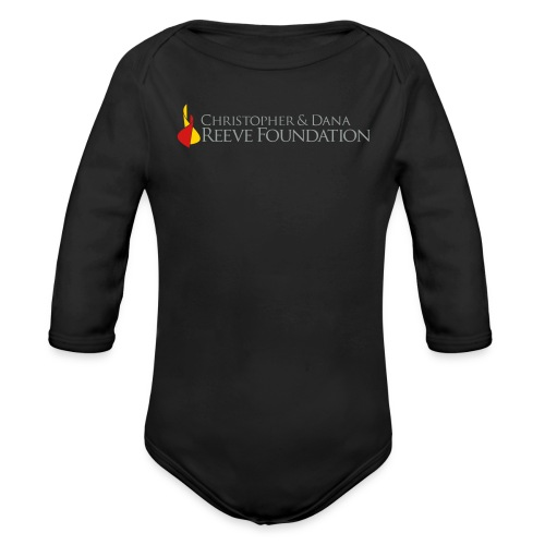 Christopher & Dana Reeve Foundation - Organic Long Sleeve Baby Bodysuit