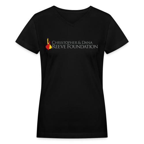 Christopher & Dana Reeve Foundation - Women's V-Neck T-Shirt