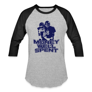 Money Well Spent - Hoodie - Baseball T-Shirt