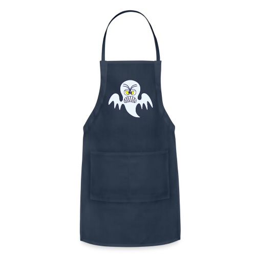 Scary Halloween Ghost Hoodies - Adjustable Apron