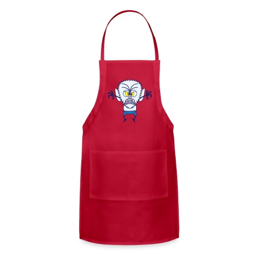 Scary Halloween Werewolf Kids' Shirts - Adjustable Apron