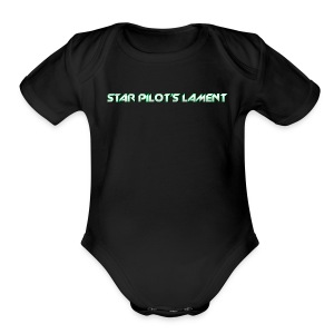 Star Pilot's Lament Ladies Title Tee - Short Sleeve Baby Bodysuit